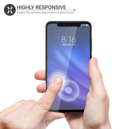 Olixar Xiaomi Mi 8 Pro Tempered Glass Screen Protector