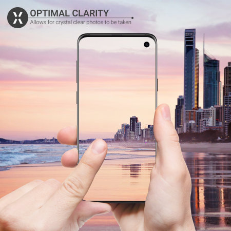 Olixar Samsung Galaxy S10 Tempered Glass Camera Protectors - Twin Pack