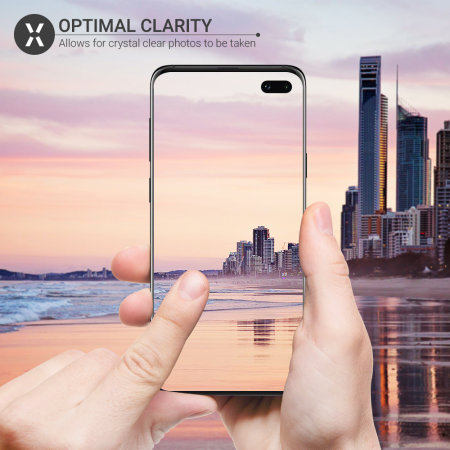Olixar Galaxy S10 Plus Tempered Glass Camera Protectors - Twin Pack