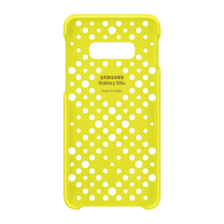 Official Samsung Galaxy S10e Pattern Cases - White And Yellow (2 Pack)