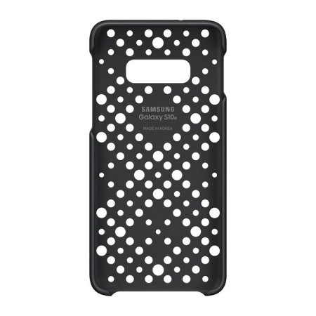 Official Samsung Galaxy S10e Pattern Cases - Black And Green (2 Pack)