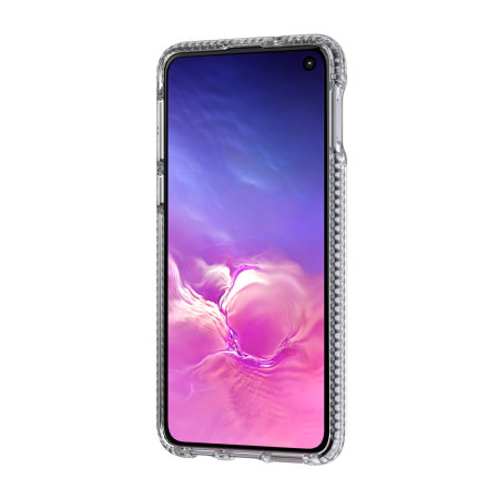 Tech21 Evo Check Samsung Galaxy S10 Case - Smokey / Black