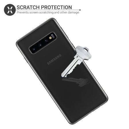 Olixar Front And Back Samsung Galaxy S10 TPU Screen Protectors