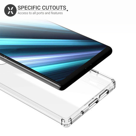 Olixar ExoShield Tough Snap-on Sony Xperia 1 Case - Clear