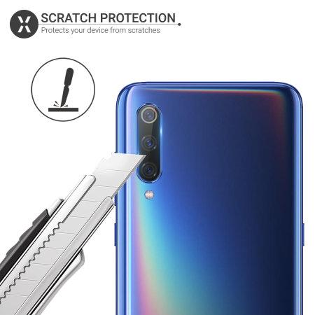 Olixar Xiaomi Mi 9 Tempered Glass Camera Protectors - Twin Pack