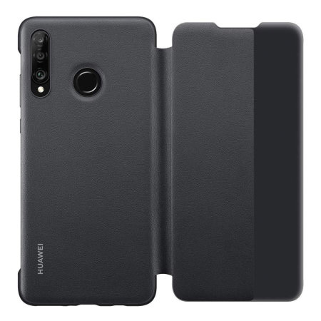 Official Huawei P30 Lite Flip View Case - Black