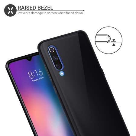 Olixar FlexiShield Xiaomi Mi 9 Case - Zwart