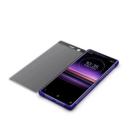 Official Sony Xperia 1 Style Cover Touch Case SCTI30  - Purple