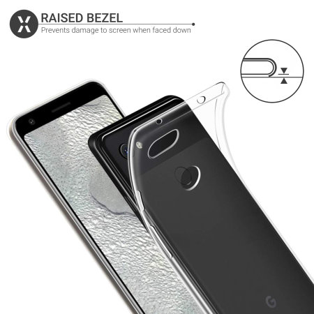 Olixar Ultra-Thin Google Pixel 3a XL Case - 100% Clear