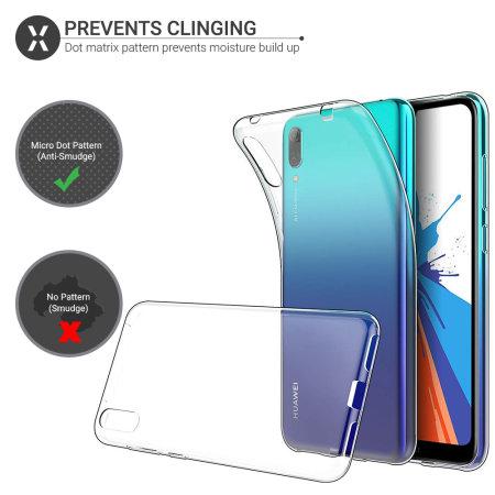 Olixar Ultra-Thin Huawei Y7 Pro Case - Transparant