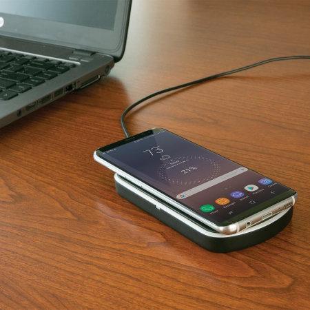 Scosche Universal Qi Wireless Charging Pad 10W - Clear