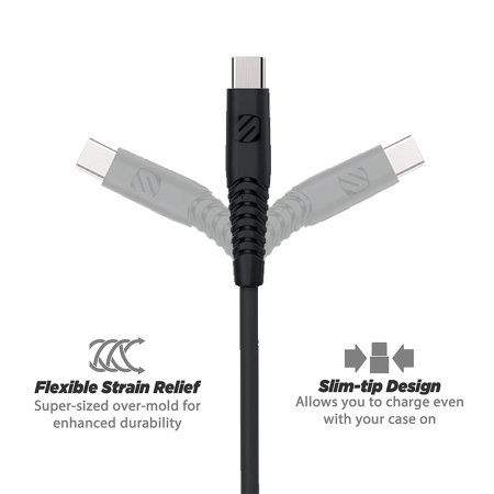 Scosche SyncAble Heavy Duty Reversible Micro USB Cable - 4ft