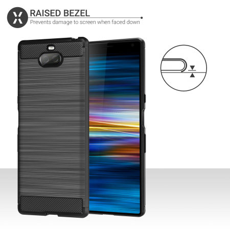 Olixar Sentinel Sony Xperia 10 Plus Case And Glass Screen Protector