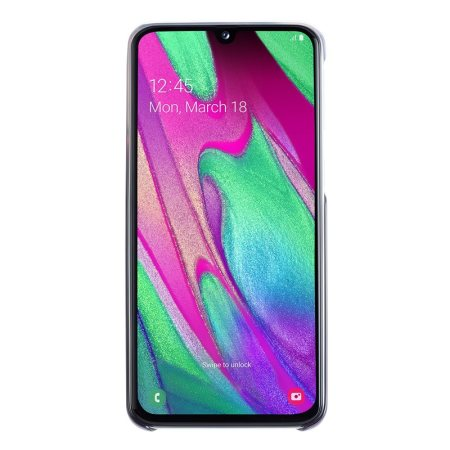 Official Samsung Galaxy A40 Gradation Cover Case - Black