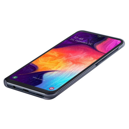 Official Samsung Galaxy A50 Gradation Cover Case - Black