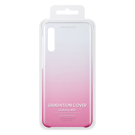 Official Samsung Galaxy A50 Gradation Cover Case - Pink