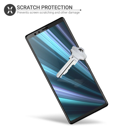 Olixar Sony Xperia 1 Film Screen Protector 2-in-1 Pack