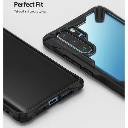 Ringke Fusion X Huawei P30 Pro Bumper Case - Black