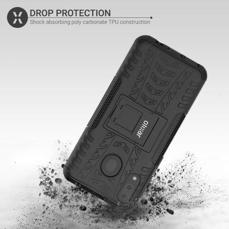 Cover Olixar ArmourDillo  Samsung Galaxy M20  Custodia robusta - Nero