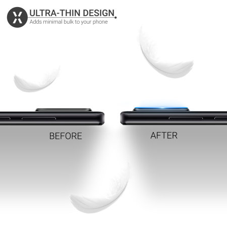 Olixar Huawei P30 Lite gehärtetes Glas Kameraschutzfolien - Doppelpack