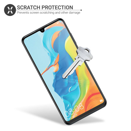 Olixar Huawei P30 Lite Film Screen Protector 2-in-1 Pack