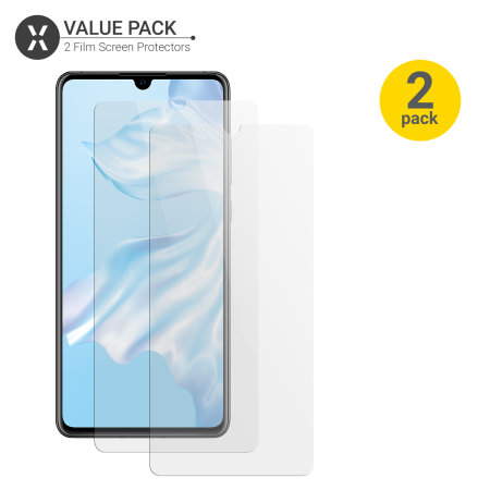 Olixar Huawei P30 Film Screen Protector 2-in-1 Pack