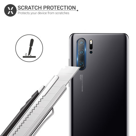 Olixar Huawei P30 Pro Tempered Glass Camera Protectors - Twin Pack