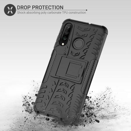 Olixar ArmourDillo Huawei P30 Lite Protective Case - Black