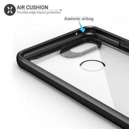 Olixar NovaShield Google Pixel 3a Bumper Case - Black