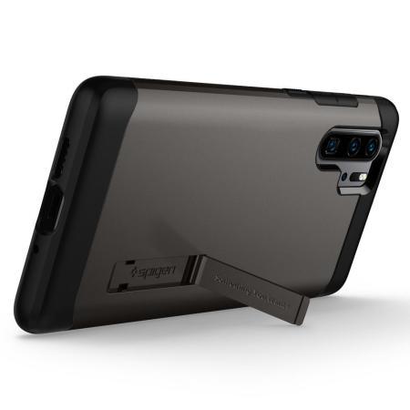 Spigen Slim Armor Huawei P30 Pro Kickstand Case - Gunmetal