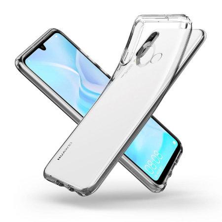Spigen Liquid Crystal Huawei P30 Lite Case - Clear