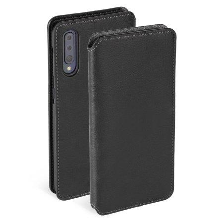 Krusell Pixbo 4 Card SlimWallet Samsung Galaxy A50 Väska - Svart