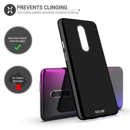 Olixar FlexiShield OnePlus 7 Pro Gel Case - Solid Black