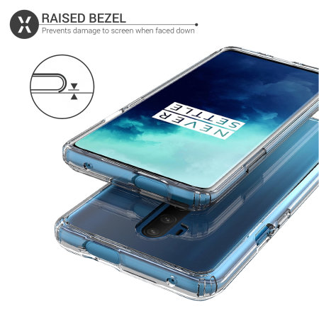 Olixar ExoShield Tough Snap-on OnePlus 7 Pro Case - Clear