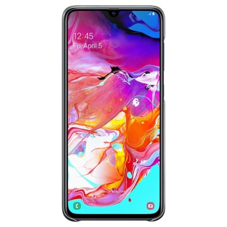 Official Samsung Galaxy A70 Gradation Cover Case - Black
