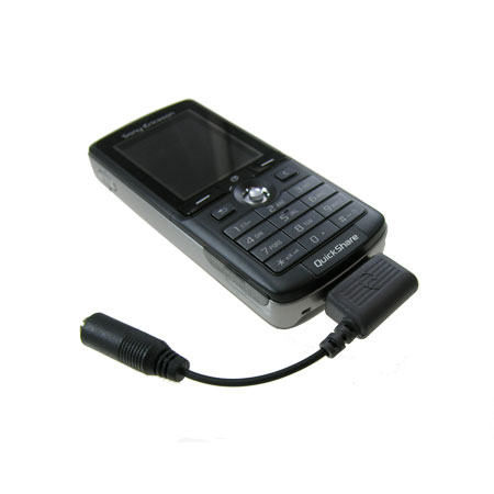 Sony Ericsson Fast-Port Stereo Audio Adapter