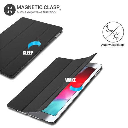 Olixar iPad Mini 2019 Folding Stand Smart Case - Black