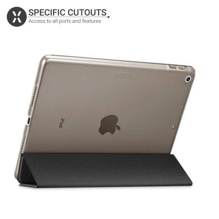 Funda iPad Air 2019 Olixar Folding Stand Smart - Negra