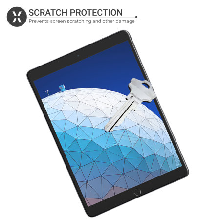 Olixar iPad Air 2019 Film Screen Protector 2-in-1 Pack