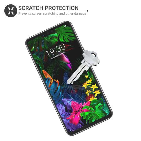 Protector de Pantalla LG G8 Olixar - Pack de 2