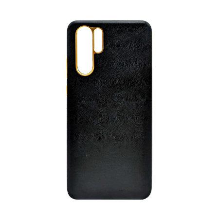 Olixar Genuine Leather Huawei P30 Pro Case - Black