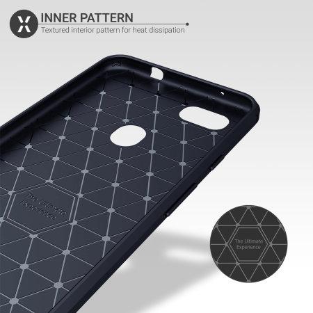 Pixel 3a XL sej Case og skræmbeskytter Olixar Sentinel - Blå