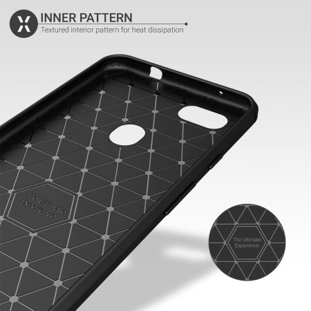 Olixar Sentinel Pixel 3a Case And Glass Screen Protector - Black