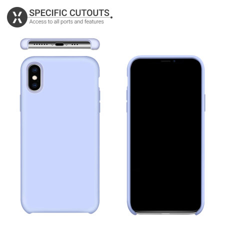 Olixar iPhone XS Soft Silicone Case - 3 Pack