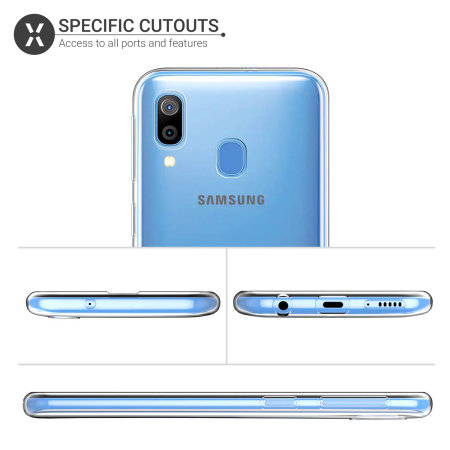 Olixar Ultra-Thin Samsung Galaxy A30 Case - 100% Clear