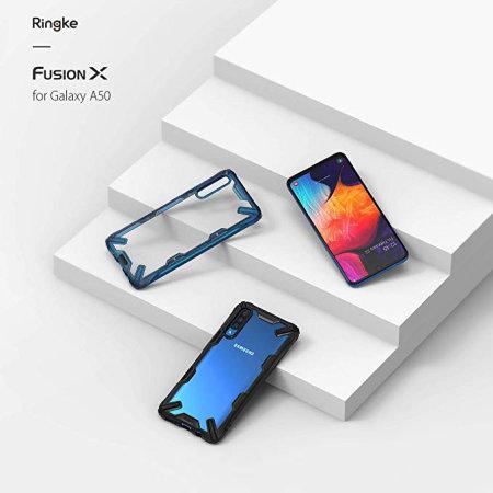 Ringke Fusion X Samsung Galaxy A50 Case - Black