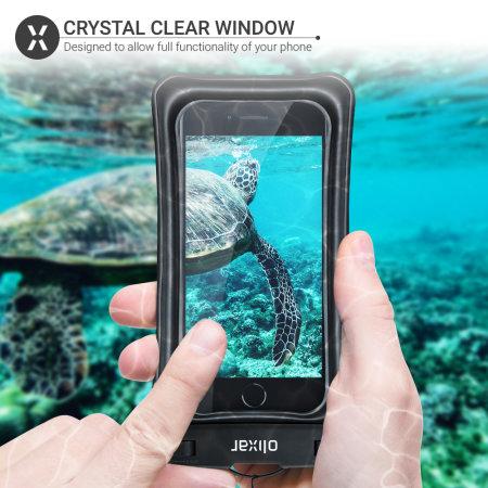 Olixar Samsung Galaxy S10 Waterproof Pouch - Black