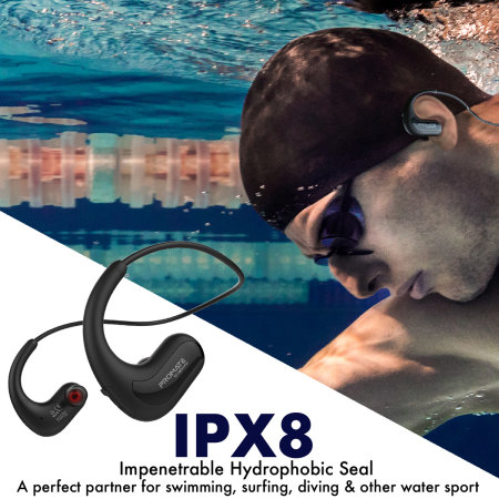 Promate Divemate Sports Waterproof Earphones - Black