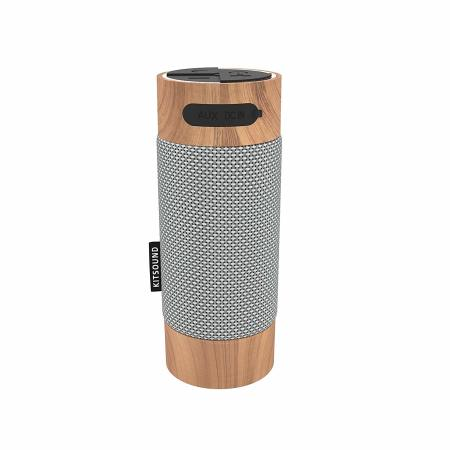 Altavoz Bluetooth para exterior KitSound Diggit  - Madera