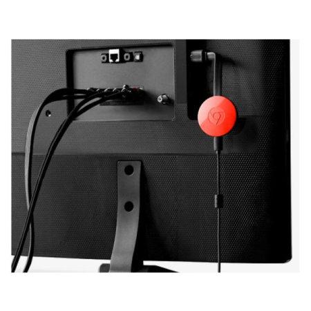 Google Chromecast 2 EU Plug - Red